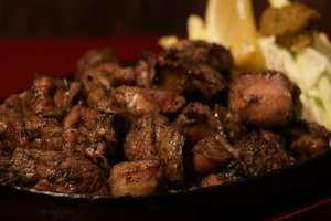 宮崎でおすすめの地鶏の炭火焼